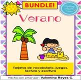 VERANO: Lectura, escritura y juegos – SUMMER in Spanish Literacy Centers
