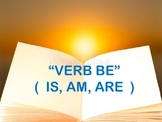 VERB BE ( IS, AM, ARE)