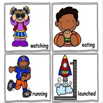 Nouns and Verbs Games