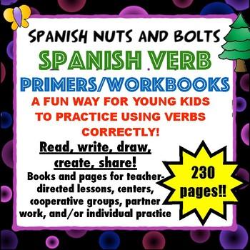 VERB GROWING BUNDLE: Primers, Workbooks, Practice Pages, Sorts