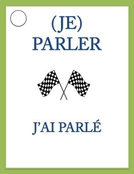 VERB RACE GAME Passé Composé of Regular Verbs with AVOIR
