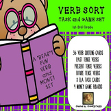 VERB TENSES and COUNTING MONEY SET