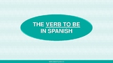VERB TO BE IN SPANISH / SER and ESTAR in Spanish / Workshe