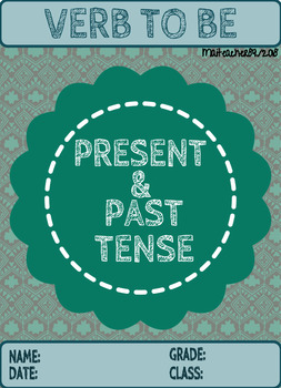 VERB TO BE: PRESENT-PAST ACTIVITY BUNDLE