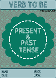 VERB TO BE: PRESENT-PAST ACTIVITY BUNDLE