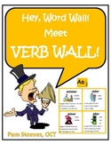 VERB WALL! 134 French Verbs with Pictures and Sentences, Word Work Activities