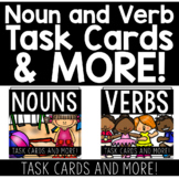 VERB and NOUN Task Cards and MORE! BUNDLE