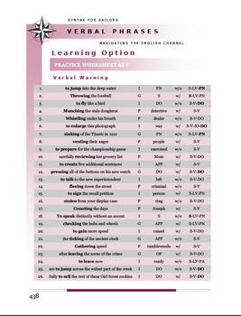 VERBALS (Diagnostic Proficiency Exercise)