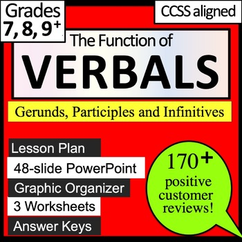 VERBALS - Gerunds, Infinitives, and Participles L.8.1.a