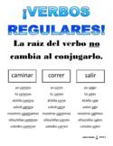 VERBOS REGULARES / REGULAR VERBS IN SPANISH