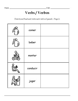 VERBS IN SPANISH