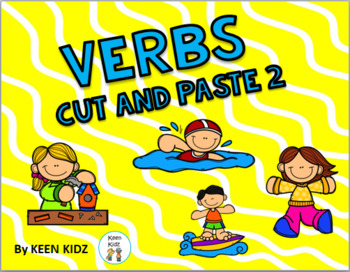 VERBS CUT AND PASTE 2