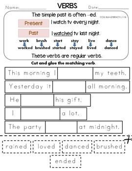 Verbs Simple Past
