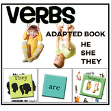 VERBS... He She They + Verbs  Adapted Book
