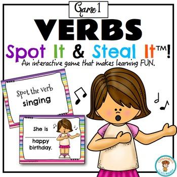 VERBS Spot It & Steal It (Game 1)