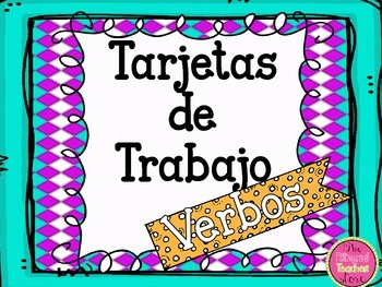 VERBS TASK CARDS IN SPANISH