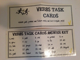 VERBS TASK CARDS set- READY TO USE!