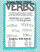 VERBS anchor charts