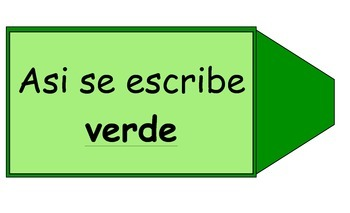 Spanish Color Song for VERDE