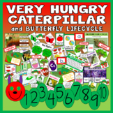 VERY HUNGRY CATERPILLAR STORYTEACHING RESOURCES EYFS KS 1-2 BUTTERFLY CYCLE