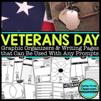 Veterans Day Writing | Veterans Day Activities | Veterans