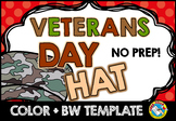 VETERANS DAY CRAFTS (SOLDIER HAT TEMPLATES) ARMY CROWN NOV