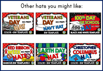 VETERANS DAY CRAFTS: VETERANS DAY HAT TEMPLATES: HOLIDAY CRAFTS: AIR FORCE HAT