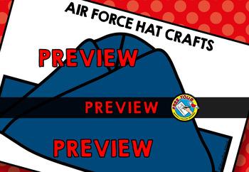 VETERANS DAY ACTIVITY KINDERGARTEN (NOVEMBER CRAFTS) AIR FORCE HAT