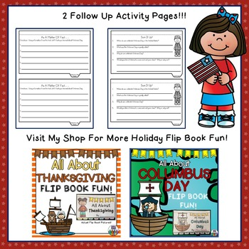 VETERANS DAY Flip Book!  All About Veterans Day and More!