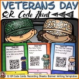 VETERANS DAY: QR CODE HUNT