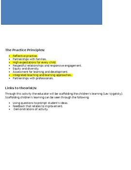 VEYLDF Lesson Plan Measurement/Template