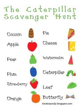 VH Caterpillar Scavenger Hunt
