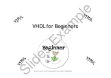VHDL for Beginners, Instructor Led Edition Package 2