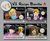 VI Recipe Bundle A - Animated Step-by-Steps® - VI