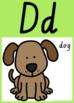 VIC Font Alphabet Posters {Rainbow Theme}