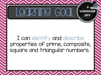 VICTORIAN CURRICULUM AU - Level 6 All MATH Learning Goals & Success Criteria!