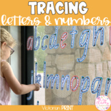 VICTORIAN PRINT Write & Wipe Alphabet and Numbers Set