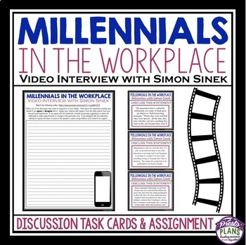 VIDEO DISCUSSION TASK CARDS & ASSIGNMENT: MILLENNIALS IN THE WORKPLACE