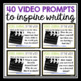 VIDEO JOURNAL PROMPTS: Grades 3 - 5