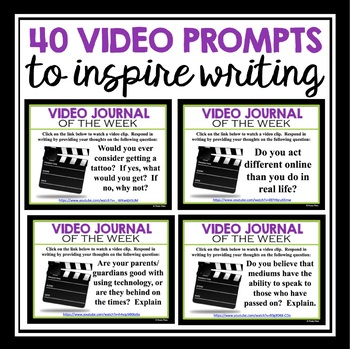 VIDEO JOURNAL WRITING: VOLUME 3