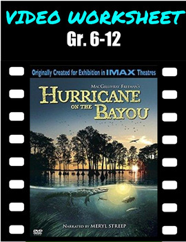 VIDEO QUESTIONS - Hurricane on the Bayou - DOCUMENTARY