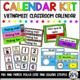 VIETNAMESE CALENDAR KIT featuring frames from Creative Clips