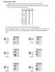 VIOLA - C and G strings note memory worksheet