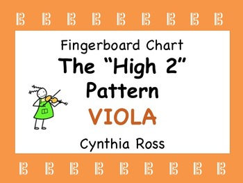 "VIOLA:  The ""High 2"" Finger Pattern"