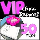 VIP Class Journal