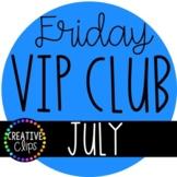 VIP Club 2020: JULY Clipart ($19.00 Value)