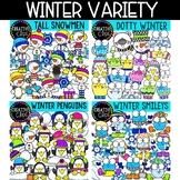 Winter Clipart Variety Bundle (Formerly November VIP 2019)