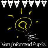 VIP Club Tasks for Very Informed Pupils!