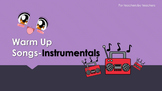 Warm Up Song for ESL teachers-Instrumentals (audio)
