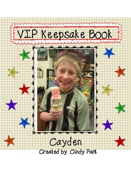 VIP Keepsake Book